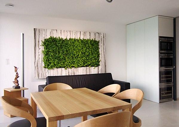 Jardines verticales un toque de verde en tu casa for Jardin vertical en casa