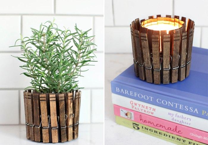 Ideas para decorar con objetos reciclados for La madera es reciclable