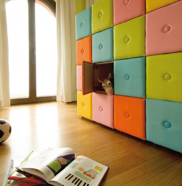 Tapizados un cl sico que vuelve a estar de moda - Lamparas para habitaciones infantiles ...