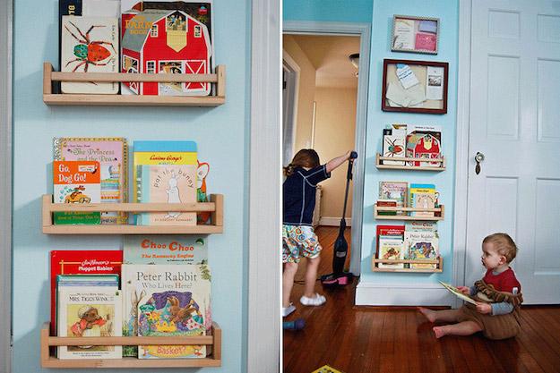 Librer as para aprovechar espacios peque os - Ikea estanterias libros ...