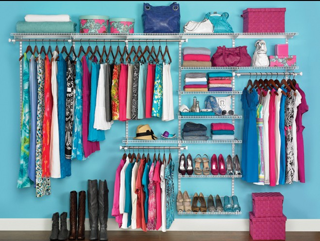 Rubbermaid Closet Storage Systems