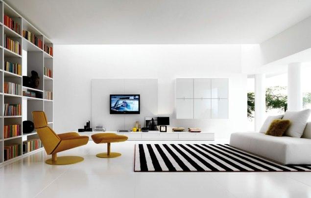decoracion salon minimalista