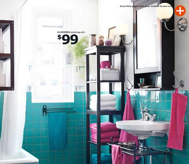 Baño Color Verde Agua:Blog Archive ¿Has visto ya el catálogo de Ikea para 2015? -