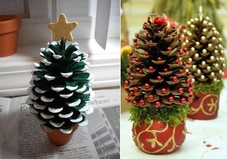 Adornos de Navidad con Materiales Naturales, Ideas Ecoresponsables6