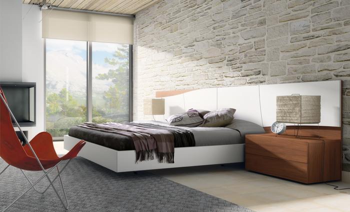 El estilo natural entra en el dormitorio