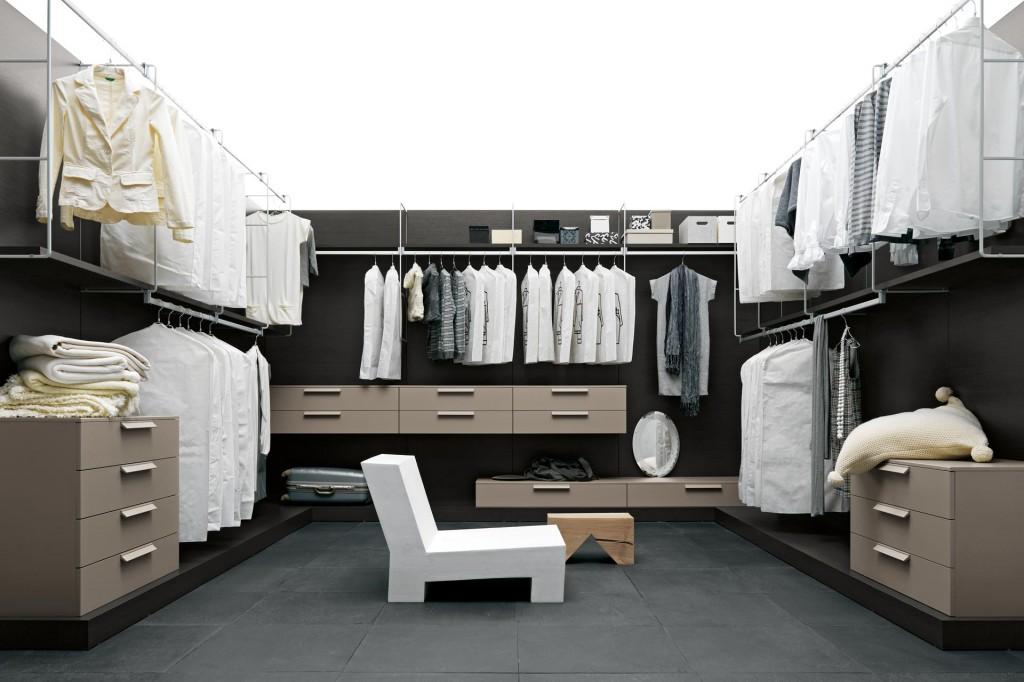 vestidor o walk in closet