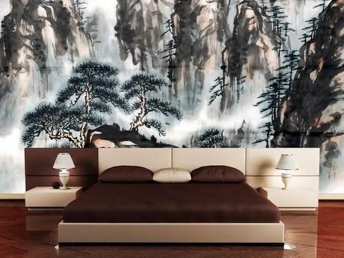 decoracoes-orientais-parede-quarto