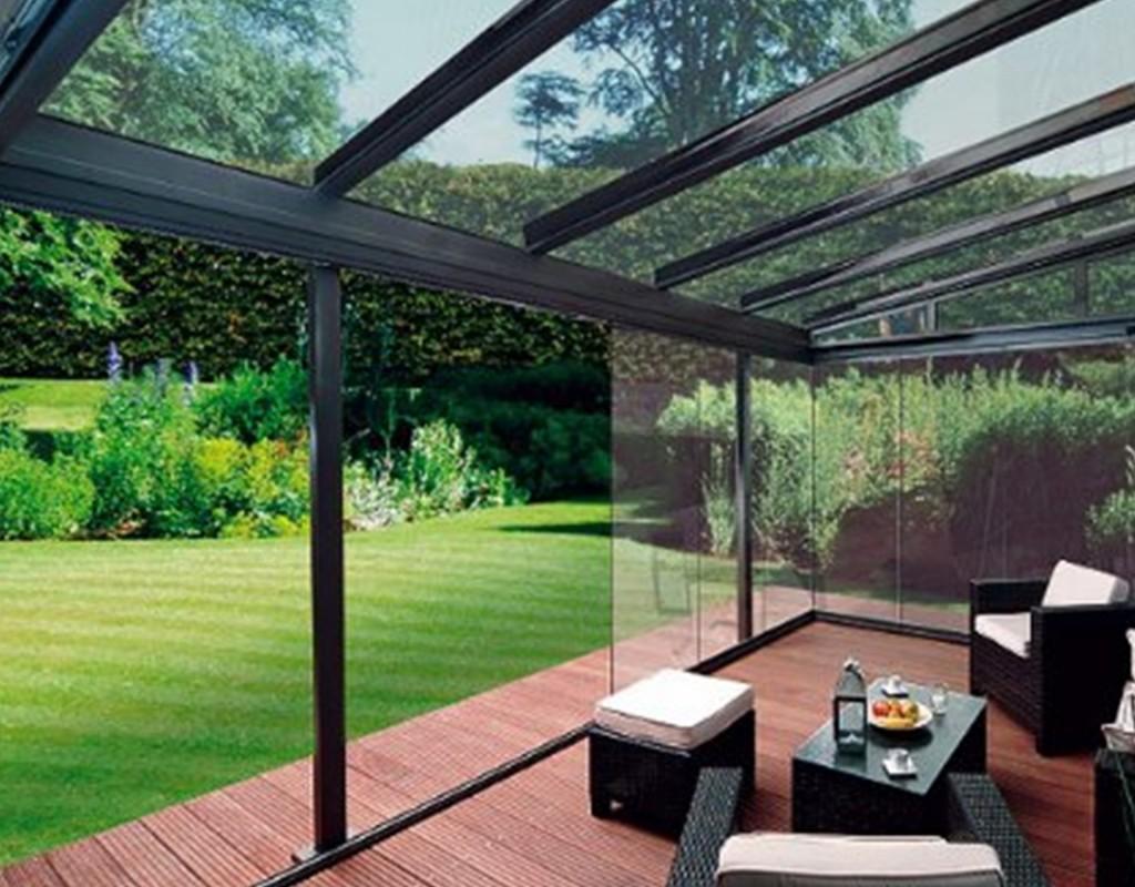 Habitaciones de cristal anexadas al hogar